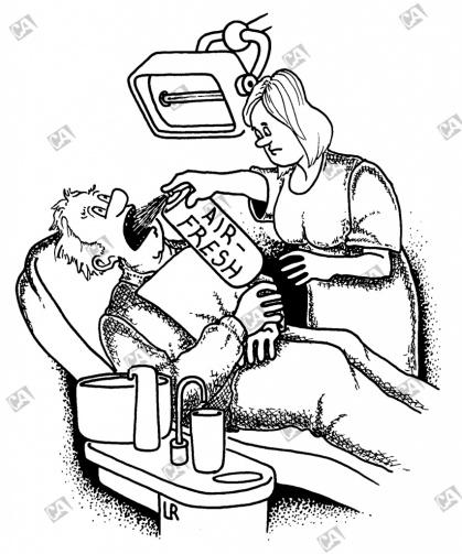Vorbereitung zur Behandlung