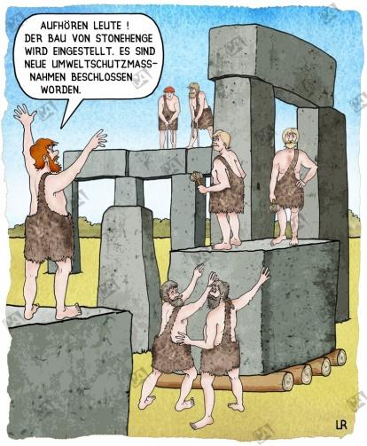 Der Bau wird eingestellt
