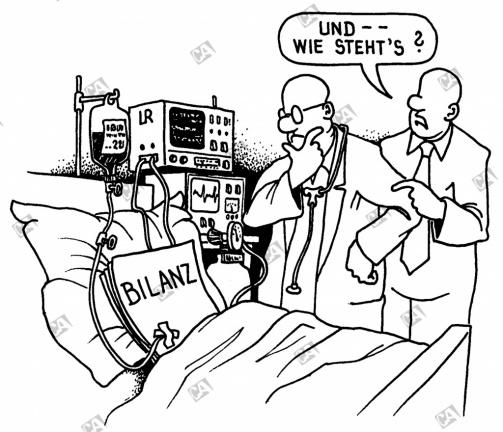 Eine Bilanz in der Intensivstation
