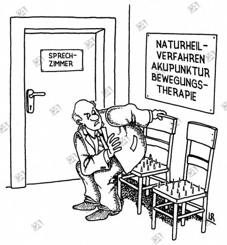 Akupunkturstuhl