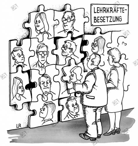 Lehrkräftebesetzung als Puzzle
