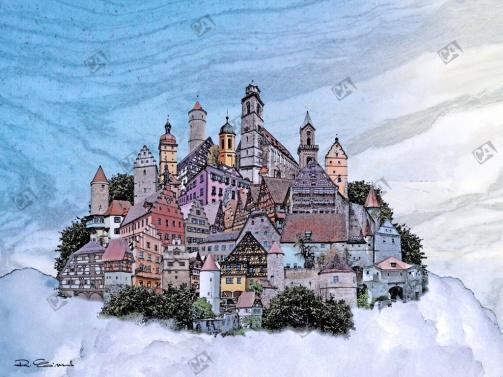 Dort oben, da liegt Wolkenkuckucksheim