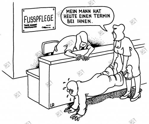 Zur Fußpflege