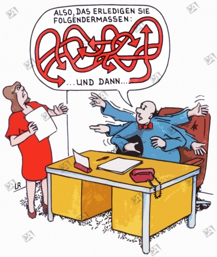 Eine konkrete Anweisung vom Chef