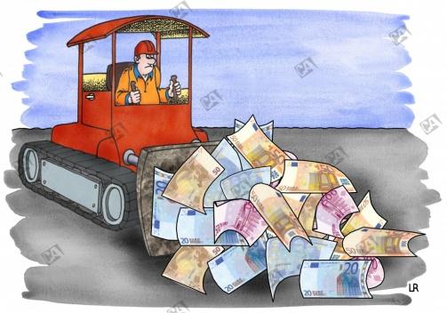 Zuviel Geld im Umlauf