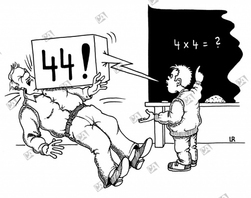 Rechenergebnis haut den Lehrer um