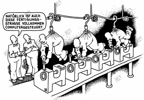 Fließbandfertigung