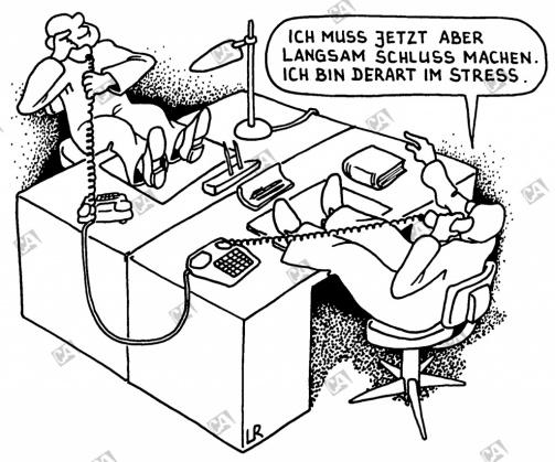 Ich bin im Stress !