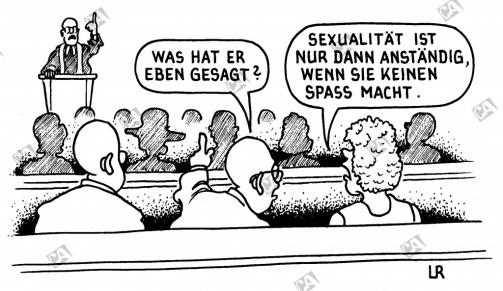 Die Predigt über Sexualität