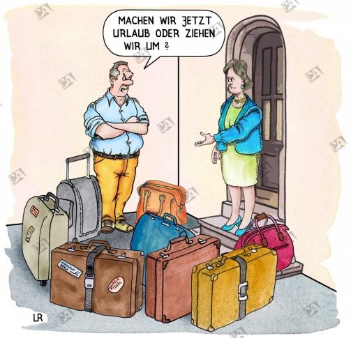Urlaub oder Umzug ?
