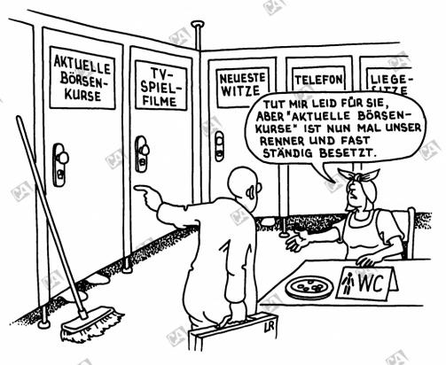 WC mit Extra-Service