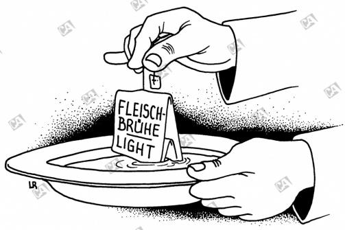 Fleischbrühe light