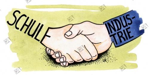 Schule und Industrie, Hand in Hand