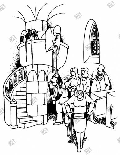 Die Kirche verteilt Rettungsringe