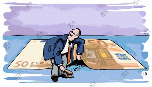 Unter den Geldschein-Teppich kehren