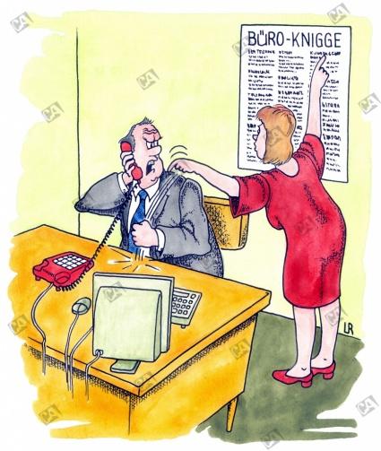 Der Büro-Knigge