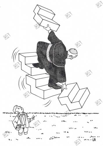 Treppe zum Himmelreich