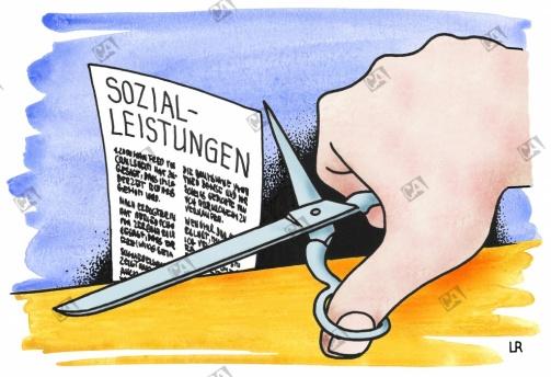 Sozialleistungen werden gekürzt