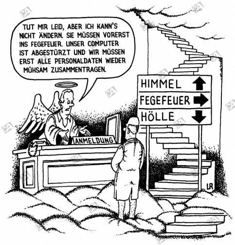 Bei Petrus im Himmel