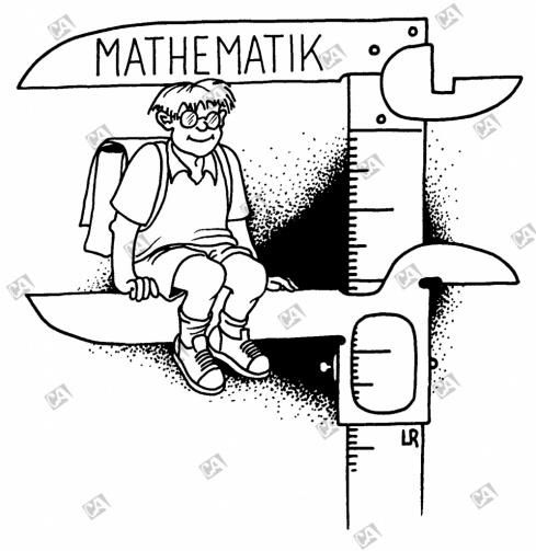 In Mathematik messen lassen