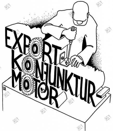Export, der Konjunktur-Motor