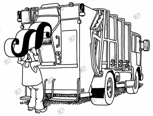 Die Müllabfuhr entsorgt Paragraphen