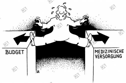 Medizinische Versorgung und Budget