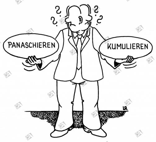 Panaschieren oder Kumulieren ?