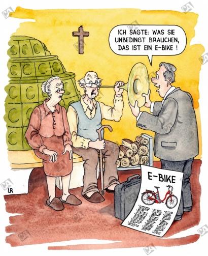 Opa soll ein E-Bike kaufen
