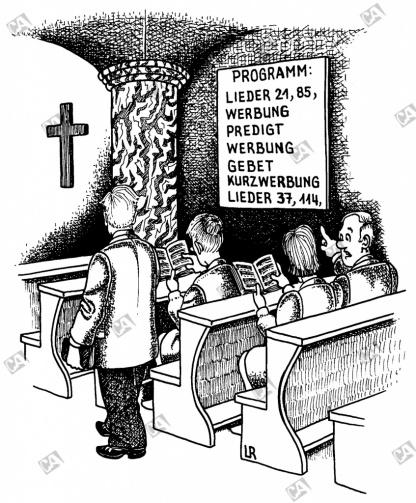 Das Programm des Gottesdienstes
