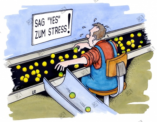 Sag 'yes' zum Stress
