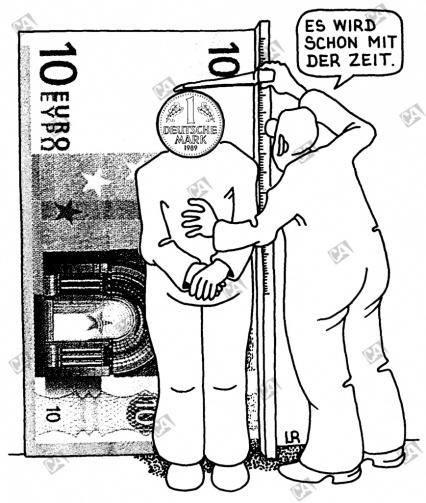 Der Euro als Maß aller Dinge