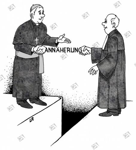 Annäherung beider Kirchen