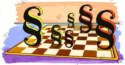 Paragraphen-Schach