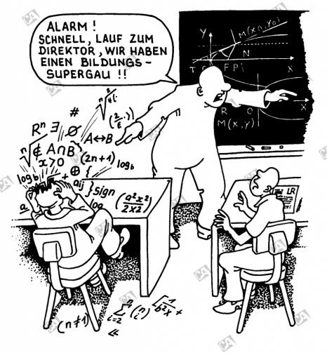 Bildungs-Supergau
