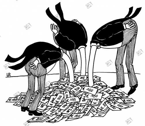 Vogel-Strauß-Politik