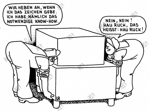 Know-how oder hau-ruck ?