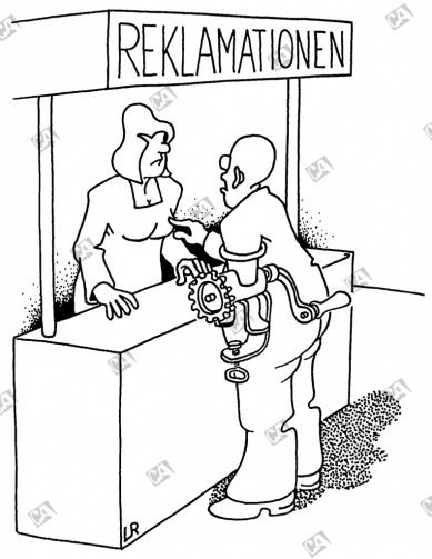 Reklamation wegen Hausarbeit