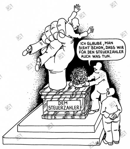 Ein Denkmal dem Steuerzahler