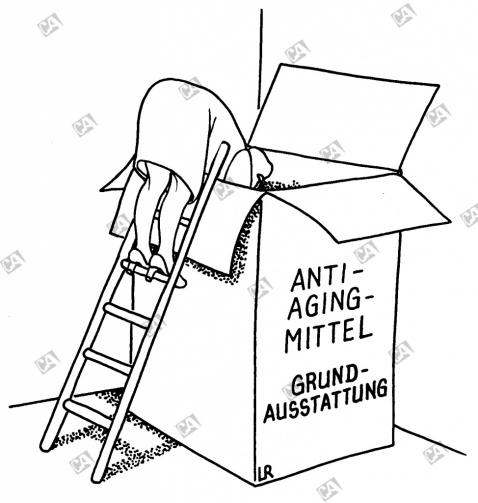 Anti-Aging-Ausstattung