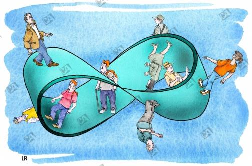 Ein Möbiusband