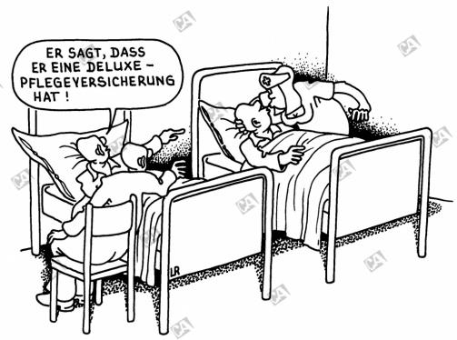 Pflegeversicherung deluxe