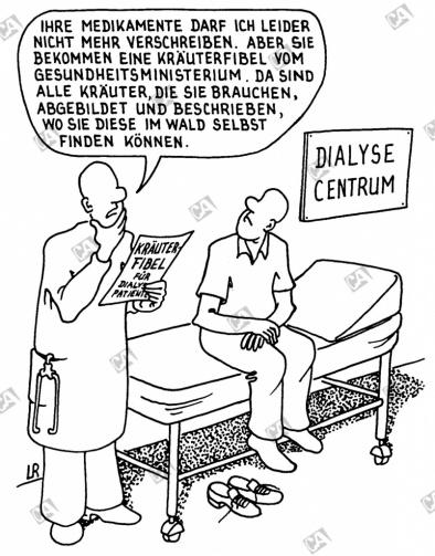Kräuterfibel für Dialysepatienten