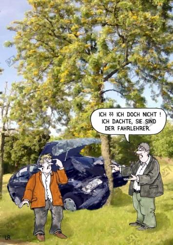 Der falsche Fahrlehrer