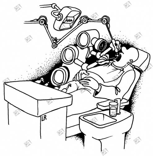 Ein Roboter als Zahnarzt