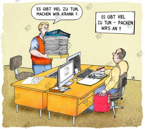 Arbeitsüberlastung - was tun ?