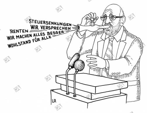Schulz verspricht alles