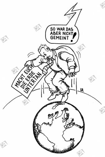 Macht euch die Erde untertan