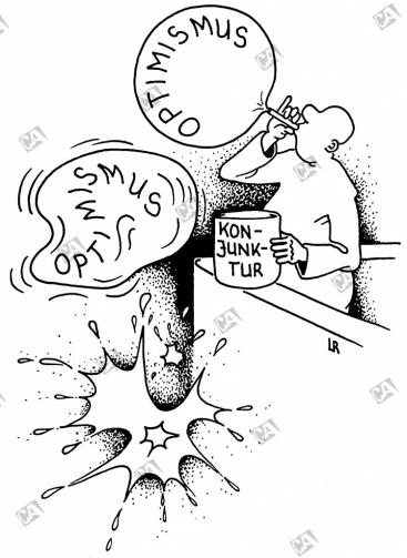 Seifenblasen-Optimismus