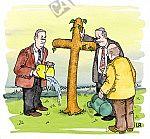 Ein christlicher Baum